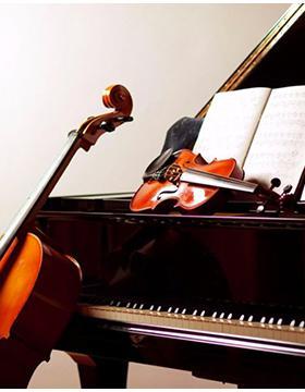 Identidad gráfica para promocionar la Temporada de Otoño 2019 del Departamento de Música a desarrollarse en el Museo Regional y en el Centro Constitución