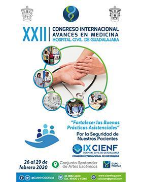 """Vigésimo segundo Congreso Internacional Avances en Medicina """"Fortalecer las buenas prácticas asistenciales"""" y IX Congreso Internacional de Enfermería"""