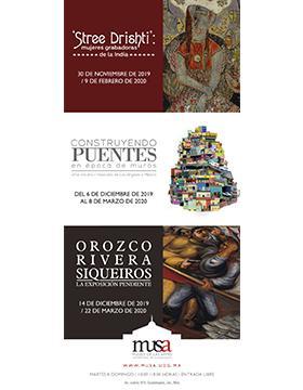 Próximas exposiciones en el Museo de las Artes.
