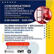 Conversatorio de problemas contemporáneos en derechos humanos