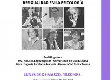 Diálogo: Género y academia. Desigualdad en la psicología