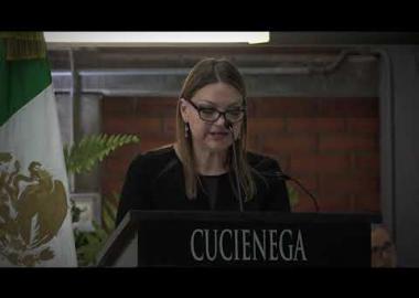 Informe de Actividades CUCiénega Mtra María Felícitas Parga Jiménez