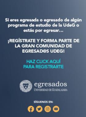 Campaña de registro de egresados UdeG